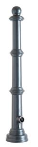 Stilpoller aus Aluminium, konisch Ø 60 / 160 mm