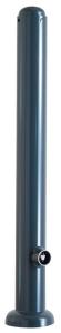Stilpoller Ø 82 mm mit Halbkugelstahlkappe