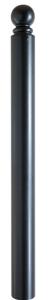 Stilpoller Ø 82 mm mit Kugelkopf auf Ring