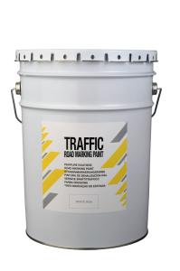 Straßenmarkierfarbe -Traffic Paint-, schnell trocknend, 25 kg, für den Außenbereich (Farbe (RAL) : weiß (RAL 9016) (Art.Nr.: 35899))