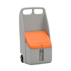 Streugutbehälter -Cemo Go-Box- 70 Liter aus chemikalienbeständigem PE (Ausführung: Streugutbehälter -Cemo Go-Box- 70 Liter aus chemikalienbeständigem PE (Art.Nr.: 39951))