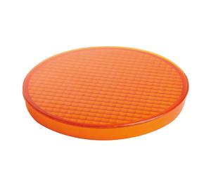 Streuscheibe, orange für Leuchten -SH-5.100- und -SH-5.200- (Ausführung: Streuscheibe, orange für Leuchten -SH-5.100- und -SH-5.200- (Art.Nr.: 35246))