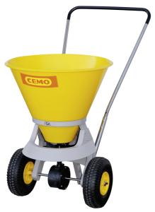Streuwagen -CEMO SW35-C- aus Kunststoff und Edelstahl mit PE-Behälter, 35 Liter (Ausführung: Streuwagen -CEMO SW35-C- aus Kunststoff und Edelstahl mit PE-Behälter, 35 Liter (Art.Nr.: 34058))