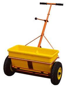 Streuwagen-Kastenstreuer -CEMO KS 35-E- mit Edelstahl-Rührwelle / Achse und PE-Behälter, 35 Liter (Ausführung: Streuwagen-Kastenstreuer -CEMO KS 35-E- mit Edelstahl-Rührwelle/Achse und PE-Behälter, 35 Liter (Art.Nr.: 14085))