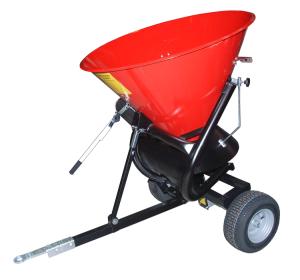 Streuwagen -Typ STW-, verstellbare Streubreite und Streurichtung (Volumen/Streubreite/Tragkraft/Gewicht/Bereifung: 105 Liter / 6 m / 135 kg / 28 kg<br>Vollgummibereifung (Art.Nr.: 38368))