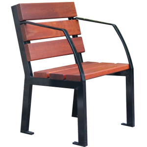 Stuhl -Nature- aus Stahl und Eichenholz, Lasur Eiche hell oder Mahagoni