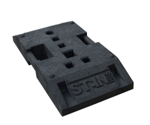 TL Bakenfußplatte K1, ca. 28 kg, wahlweise mit oder ohne Batteriefach (Modell: ohne Batteriefach (Art.Nr.: 18481))
