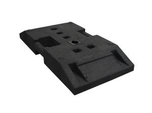 TL Fußplatte nach K1 Typ NOX, ca. 30 kg (Ausführung: TL Fußplatte nach K1 Typ NOX, ca. 30 kg (Art.Nr.: 38559))