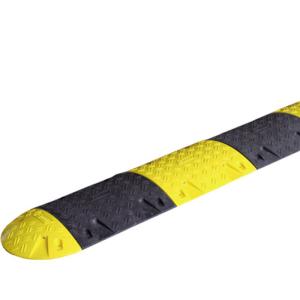 Temposchwellen Komplett-Set <,6 km / h aus Recyclingmaterial, Höhe 75 mm, Länge 1-10 m (Länge: ca. 1,00 m (Art.Nr.: 37303))