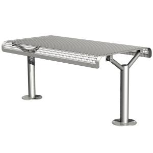 Tisch -Joku-, Abstellfläche aus Drahtgitter