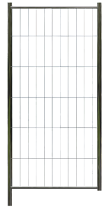 Torelement Bauzaun -Profi-, Höhe 2,00 m, MW 300 / 100, Standrohre Ø 42,4 mm (Ausführung: Torelement Bauzaun -Profi-, Höhe 2,00 m, MW 300/100, Standrohre Ø 42,4 mm (Art.Nr.: 3b620))