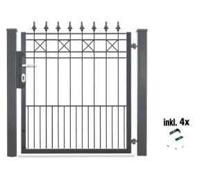 Torset für Zaunpakete -Modena-, Lichte Weite 960 mm (für Zaunhöhe: 900 mm (Art.Nr.: 35923-02))