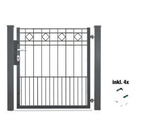 Torset für Zaunpakete -Turin-, Lichte Weite 960 mm (für Zaunhöhe: 800 mm (Art.Nr.: 35929-02))