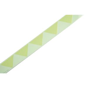Türmarkierungsstreifen aus Alu, langnachleuchtend / weiß, selbstklebend (Maße (LxB): 1000 x 30 mm (Art.Nr.: 15.7396))
