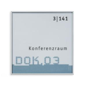 Türschild -New Age- wahlweise 100 x 160 mm oder 227 x 227 mm (Maße (BxH): 100 x 160 mm (Art.Nr.: na5008))