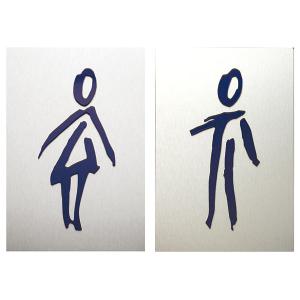 Türschild -VIVA-, zum Anschrauben oder Ankleben (Piktogramm: Damen (Art.Nr.: 90.9151-01))
