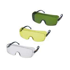 Überbrille -Fokus- 3M, aus Polycarbonat, 4-stufig, versch. Ausführungen (Scheibentönung/Anwendungsbereich:  <b>klar</b> / mechanische Arbeiten (Art.Nr.: 35006))