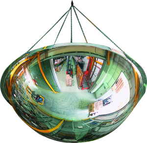 Überwachungsspiegel -PANORAMA 360- aus Acrylglas