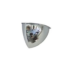 Überwachungsspiegel -PANORAMA 90- aus Acrylglas (Maße (BxHxT)/Beobachterabstand: 300 x 300 x 240 mm / 3 m (Art.Nr.: 11284))