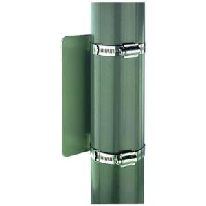 Universal Bandschelle Typ 2, aus Edelstahl, für Pfosten Ø 55-70 oder Ø 70-100 mm, VPE 2 Stk. (Passend für Pfosten/Menge:  <b>Ø 55-70 mm</b> / VPE 2 Stk. (Art.Nr.: 10303))