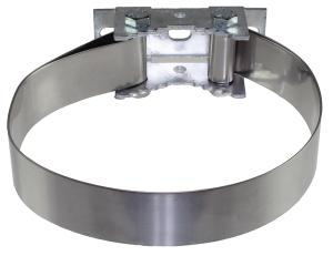 Universalbandschelle zur Befestigung von Schildern, passend für alle Pfosten von Ø 48 bis 300 mm (Ausführung: Universalbandschelle zur Befestigung von Schildern, passend für alle Pfosten von Ø 48 bis 300 mm (Art.Nr.: 90.2820))