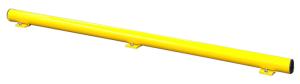 Unterfahrschutz-Balken für Rammschutzgeländer -Hybrid-, Höhe 86 mm (Länge/Einsatzbereich/Oberfläche: 1250 mm <b> / für den Innenbereich</b><br>kunststoffbeschichtet (Art.Nr.: 36899))