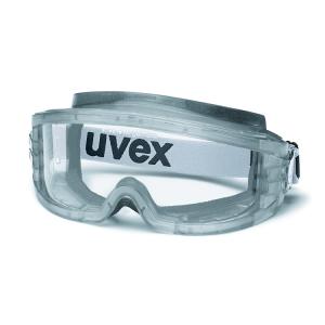 Uvex Vollsichtbrille -ultravision- aus Polycarbonat, verschiedene Ausführungen (Farbe Gestell / Variante: grau / antistatisch (Art.Nr.: ux01116))