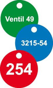 Ventilkennzeichnungen (Farbe: Grün (Art.Nr.: 90.3963-6032))