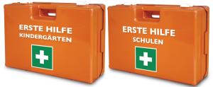 Verbandkoffer -Special Kids-, Inhalt nach DIN 13157 und Kindergarten oder Schulen-Zusatzausstattung, 340 x 240 x 120 mm (Zusatzausstattung: Kindergärten (Art.Nr.: 25375))