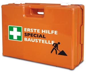 Verbandkoffer -Special-, nach DIN 13157, branchentypische Zusatzausstattung, 420 x 330 x 150 mm (Zusatzausstattung: Großhandel & Lagerei (Art.Nr.: 25118))