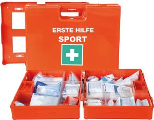 Verbandkoffer -Sport-, Inhalt nach DIN 13157, 340 x 240 x 120 mm (Ausführung: Verbandkoffer -Sport-, Inhalt nach DIN 13157, 340 x 240 x 120 mm (Art.Nr.: 33255))