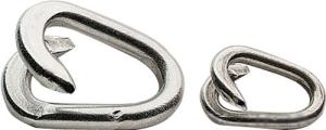Verbindungsglieder aus verzinktem Stahl (Farbe/Größe: verzinkt / 5x23mm (Art.Nr.: 13622))