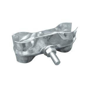 Verbindungsschelle für Mobilzäune, wahlweise mit verstärkter Blechstärke (Modell: Standard-Ausführung (Art.Nr.: 3vb10))