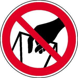 Verbotsschild, In die Schüttung greifen verboten (Maße Ø/Variante: 100 mm / einzeln (Art.Nr.: 21.0928))