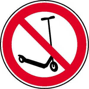 Verbotsschild, Kickboard fahren verboten (Ausführung: Verbotsschild, Kickboard fahren verboten (Art.Nr.: 21.1036))