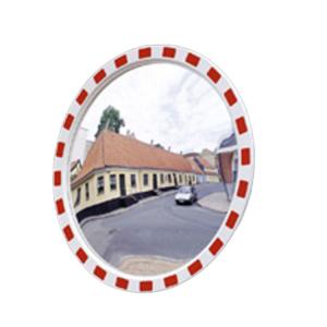 Verkehrsspiegel -EUCRYL®- aus Kunststoff, rund (Durchmesser/Max. Beobachterabstand/Gewicht: Ø 600mm/ca. 4m/5kg (Art.Nr.: 20019))