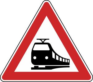 Verkehrszeichen 151 StVO, Bahnübergang
