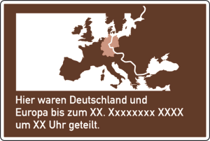 Verkehrszeichen 386.3-50 StVO, Erinnerungstafel gemäß   Brocken-Erklärung   (Maße/Folie: 1400x2100mm/ <b>RA1</b> (Art.Nr.: 386.3-50-112))