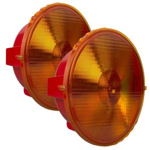 Vorwarn-Anlage -MS 340 plus-, Ø 340 mm, mit Nachtabsenkung, BASt- und KBA-geprüft (Ausführung: Vorwarn-Anlage -MS 340 plus-, Ø 340 mm, mit Nachtabsenkung, BASt- und KBA-geprüft (Art.Nr.: 37867))