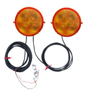Vorwarner -RS 2000- mit LED-Technik, Ø 200 mm, 2-fach-Anlage (Ausführung: Vorwarner -RS 2000- mit LED-Technik, Ø 200 mm, 2-fach-Anlage (Art.Nr.: 18749))
