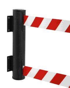 Wandgurtkassette -P-Line Dual- aus Metall, Gurtlänge 2 x 4,0 m