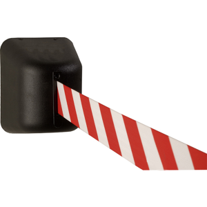 Wandgurtkassette -P-Line Future- aus Kunststoff, Gurtlänge 5 m, magnetisch oder zum Verschrauben