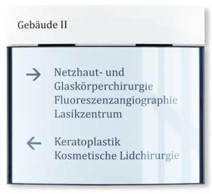 Wandschilder -PacificX- aus Aluminium (Maße (BxHxT): 317 x 285 x 15 mm (Art.Nr.: mo1000))