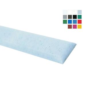 Wandschutz -Defend 350- aus HDPE, Länge 2060 mm, Höhe 350 mm, zum Anschrauben