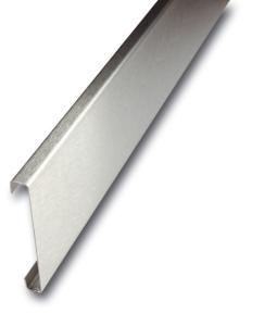 Wandschutz aus Edelstahl, Länge 2500 mm, Höhe 150 mm, zum Anschrauben (Ausführung: Wandschutz aus Edelstahl, Länge 2500 mm, Höhe 150 mm, zum Anschrauben (Art.Nr.: 34634))