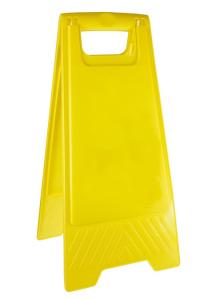 Warnaufsteller, Höhe 610 mm, ohne Beschriftung (Ausführung: Warnaufsteller, Höhe 610 mm, ohne Beschriftung (Art.Nr.: 37292))