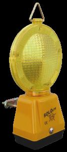 Warnleuchte -SOLOLite LED-, Ein-Batterie-Leuchte (Farbe: gelb  (Art.Nr.: 18534))