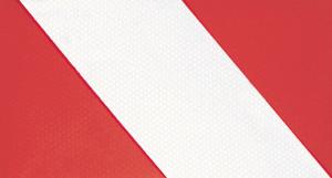 Warnmarkierung für Fahrzeuge mit Sonderrechten, 3M-Folie, DIN 30710, für Rundungen und Kanten (Ausführung: Warnmarkierung für Fahrzeuge mit Sonderrechten, 3M-Folie, DIN 30710, für Rundungen und Kanten (Art.Nr.: 13491))