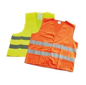 Warnweste nach DIN EN 471, gelb oder orange (Farbe: Gelb (Art.Nr.: 28422))