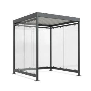 Wartehalle -Modell K2 b / b-, einseitig